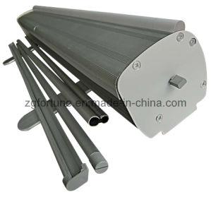 Rolo de alumínio até o Suporte de Banner pés de alumínio (completo) (FB-LV-9)