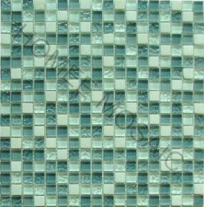 Tuile en verre de salle de bains de mosaïque de pierre de mélange (GS06)