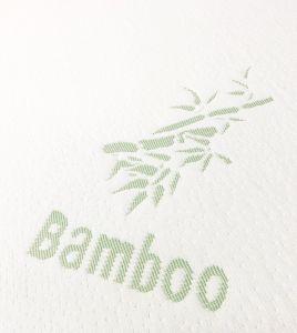 Fibre de bambou haut Housse de matelas respirant
