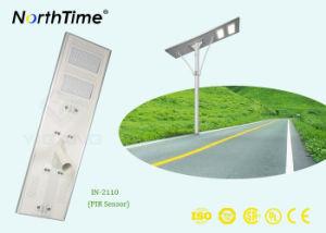 セリウムのRoHS IP65の証明書が付いている110W太陽電池パネルの街灯