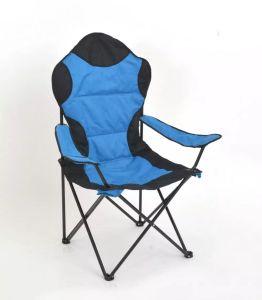 網のポケットが付いている高品質の折るキャンプチェアー