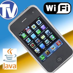 Mini + WiFi ATV + 2 Sims + Java + 2Câmera + PDA Celular (W001)
