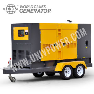Deutz 48kw/60kVAのディーゼル頑丈なレンタル発電機