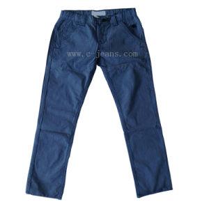 流行のまっすぐな若者の伸張ズボン(CFJ070)
