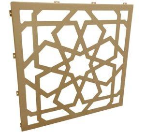 Фасад за оформление перфорированные панели из алюминия