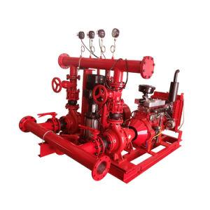 Bomba de incêndio do motor Diesel para o sistema de fonte da água