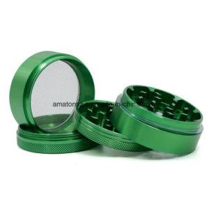 4 morceau 40mm 50mm 55mm 63mm 75mm de diamètre en aluminium multi couleurs Herb meuleuse