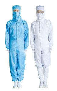 Uniforme pulita specializzata del lavoro dei vestiti in laboratorio