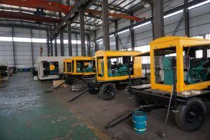 1100kw 트레일러 디젤 엔진 발전기 1375kVA 주요한 힘 Genset 자동차 발전기