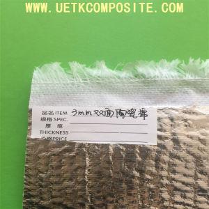 Résistant à la chaleur tissu en fibre de verre avec revêtement en aluminium
