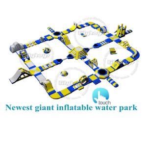 Mar comercial Aqua Park flotante inflables juegos inflables para adultos El parque acuático gigante