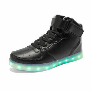 方法高い足首偶然LEDの軽い靴