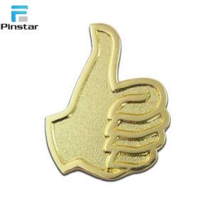 좋은 남자 금 금속 모자 Pin