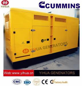 Cummins力のセリウムの承認[IC180302o]の165 KVAの防音のディーゼル発電機