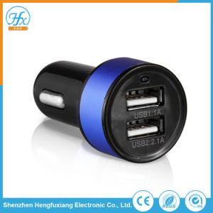 Поездки 5V/2.1A двойной автомобильного зарядного устройства USB для мобильных телефонов