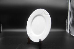 Plats en céramique pour l'Hôtel Restaurant9  de la Crow's pieds à plat