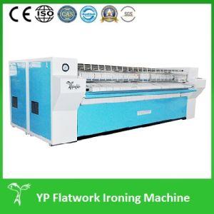 Calefacción vapor Flatwork planchado lavandería del hospital de la máquina (YP-8028)