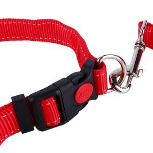 Manos libres a pie de perro retráctil correa correa para la ejecución de a pie