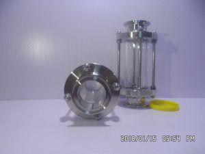 Vetro di vista dell'acciaio inossidabile del fornitore della Cina sanitario, morsetto di vetro di vista tri, valvola di vetro di vista