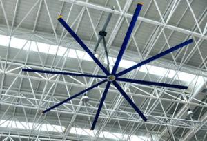 Alliage d'aluminium 7.3m 8 pcs pales des ventilateurs de plafond de gros industriels/ventilateur de l'air
