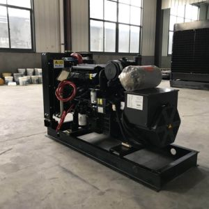 Schwarzes angeschaltener hochfester schalldichter Dieselgenerator