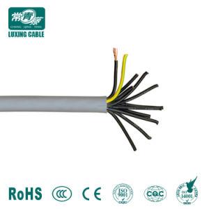 Cabo de cobre flexível Rvv 5 Core 4mm de fio elétrico