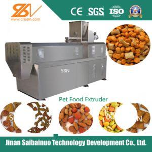 Cão de estimação totalmente automático Cat alimentos para peixes Coxim Extrusor