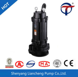 Hot-Sale Wqx sumergible de aguas residuales bomba de agua eléctrica