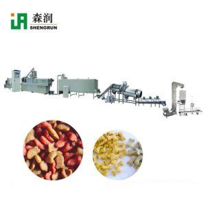 Los granos secos basando Perro gránulos de alimentación del dispositivo de producción