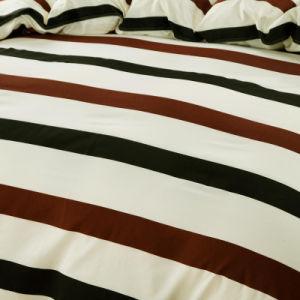 安いポリエステル顔料プリントキルトカバー敷布の寝具