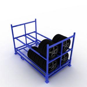 L'acier enduit de poudre personnalisé Tire Rack à bas prix