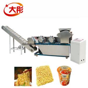 Massas alimentícias da indústria de máquinas de macarrão instantâneo / Máquina de processamento de macarrão instantâneo frito equipamentos de macarrão instantâneo