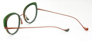 De nieuwe In het groot Voorraad van het Ontwerp maakt tot het Metaal van de Orde Optisch Frame Eyewear
