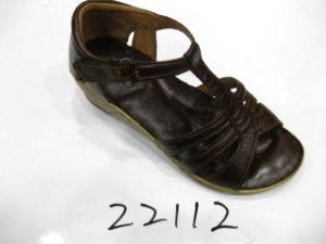 Sandales en cuir occasionnels