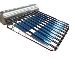 Calentador de Agua Solar de Tubo de Vacío del Acuerdo de Presión Baja