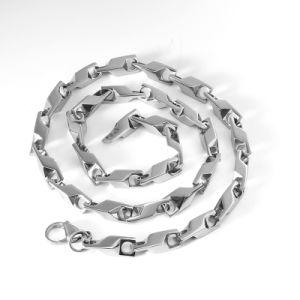 Roestvrij staal Dikke Ruige Neckleces, Halsband Mens
