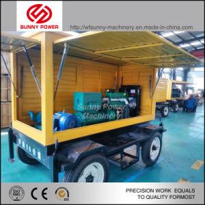 La instalación de Diesel Bomba de agua con tubos de UPVC