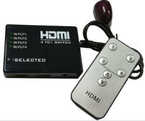IR Wireless Remote를 가진 PS3 xBox를 위한 HDMI True Matrix 3 /4/5 5 Port HDMI Switch Switcher HDMI Splitter Hub Box 360 HDTV DVD