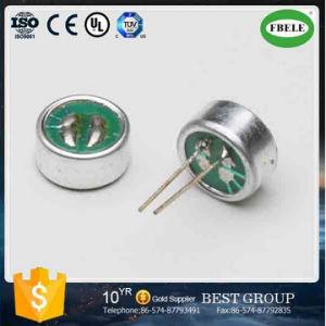 Em6027pの60mmx2.7mm無料サンプルバックエレクトレットコンデンサマイクロホン(FBELE)