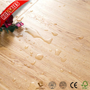 3D de madera de teca de 8mm Piso Laminado resistente al agua HDF
