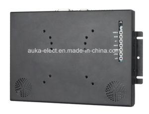 Moniteur tactile industrielle 10,4 avec châssis ouvert pour le paiement d'affichage de la machine