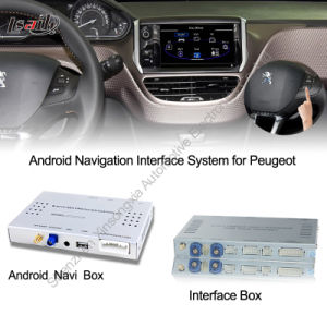 Androides Navigation Interface Box für Peugeot 208, 2008, 408, 508 Touch oder 1080P
