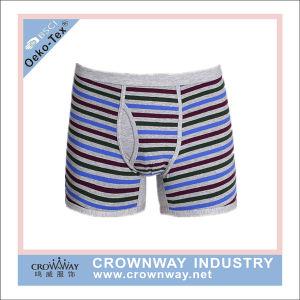 Resumos do sexo masculino Thong roupa interior de algodão/spandex