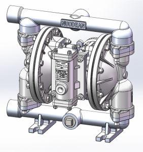 1  pompa di alluminio di Aodd di grande flusso