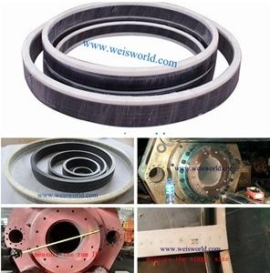 As vedações de embalagem V/Anel de Vedação de Embalagem/ Vedações para prensa de extrusão de alumínio