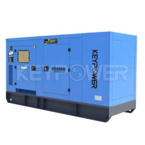 Generatore diesel di colore della prova blu del suono con Cummins Engine