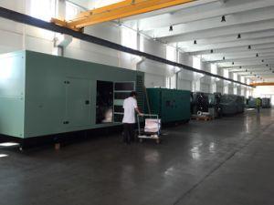 275 ква 220квт резервных источников питания UK Silent типа дизельных генераторных установках
