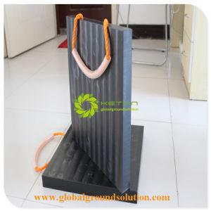 黒いカラーパッドの変化カラーパッドかアウトリガークレーンLefサポートパッド