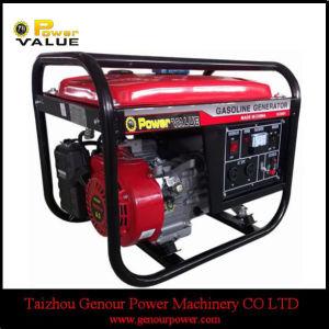 Aparelhos electrodomésticos China com Pneus Kit 2kVA 2KW 6.5HP gerador a gasolina