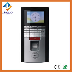 De het biometrische Toegangsbeheer van de Vingerafdruk & Lezer van de Kaart RFID